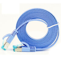 High Quality 5M Cat6 Ethernet Flat Cable Rj45 Computer Lan Network Cord FE