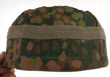 WWII GERMAN FALLSCHIRMJAGER PARATROOPER M38 HELMET COVER DOT 44 CAMO-33360