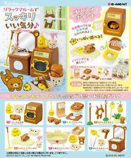 New Re-Ment san-x Miniature Rilakkuma Wash Room 750Yen furniture Full set of 8