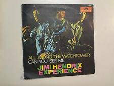 "JIMI HENDRIX EXPERIENCE: All Along The Watchtower-Can You See Me-Spain 7"" 68 PSL"