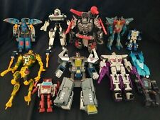 Hasbro Transformers Classic Generation And More Action Figure and parts lot