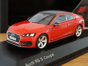SPARK AUDI SPORT RS5 (A5) COUPE MISANO RED CAR MODEL 501.17.150.31 1:43