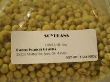 2016 Harvest Season NON GMO Soybeans for Crafts, Soymilk & Tofu 1.5 lbs