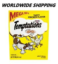 Temptations Treat for Cats Tasty Chicken Flavor 6.3 Oz WORLDWIDE SHIPPING