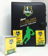 2008 NRL Champions Trading Cards Base Set (195)+ Official Album (with Pages)