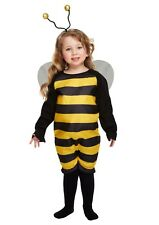 TODDLER BEE HALLOWEEN FANCY DRESS COSTUME PARTY AGE 3-4 FREE UK P+P reduced