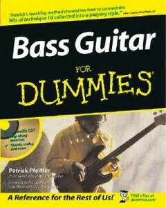 Bass Guitar For Dummies (For Dummies (Lifestyles Paperback)) - Paperback - GOOD