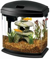 Aqueon MiniBow 1 LED Desktop Aquarium Kit, Black, 1 Gallon -MAKE OFFER-