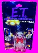 Vtg ET Poseable Alien ACTION FIGURE w Speak & Spell accessory & Extending Neck
