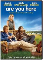 DVD - Comedy - Are You Here Owen Wilson - Zach Galifianakis - Amy Poehler