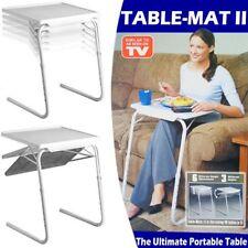 Tavolo Tavolino Multiuso Regolabile Pieghevole Salvaspazio Per Divano e Letto