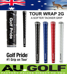 Genuine Golf Pride Tour Wrap 2G Golf Grips - Std/Jumbo Size -1 post cost any qty