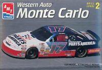 AMT ERTL 1:25 #17 Western Auto Parts Monte Carlo Thunderbird #8404U 8189U 2 Kits