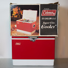 Vintage Coleman Snow-Lite Red With Tray & Box Model 5255 1970s VTG