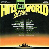 (CD) Hits Of The World 1980/1981 - Marianne Faithfull, ABBA, Visage, Lipps Inc.