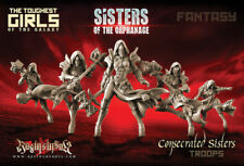 Raging Heroes 23790 Consecrated Sisters Troops (Fantasy) Female Warrior Knights