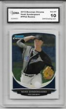 2013 Bowman Chrome # TP22 Noah Syndergaard Rookie Card NY Mets ACE Graded GMA 10
