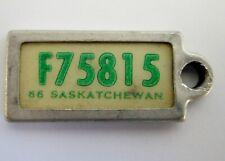 1966 SASKATCHEWAN WAR AMPS KEYTAG MINI LICENSE PLATE # F75815