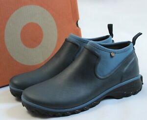 BOGS Women's Size 11 Sauvie Chelsea Waterproof Garden Short Rain Boots Blue