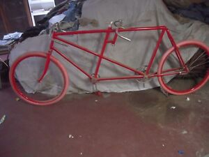 1896 DAYTON TANDEM RESTORATION PROJECT ANTIQUE VETERAN BICYCLE