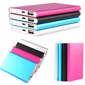 Mini Portable Power Bank 20000mAh USB External Battery Charger For Cell Phone UK