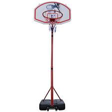 10FT Basketball Hoop System Backboard Stand Indoor Outdoor Goal w/ Net Wheels