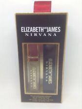 Elizabeth & James NIRVANA Black Rollerball Parfum Nude Lip Gloss Gift Set Duo