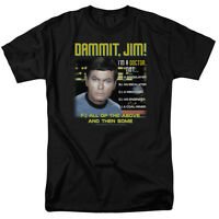 Original Star Trek Dammit Jim I'm a Doctor! Not a... Tee Shirt Adult Sizes S-3XL