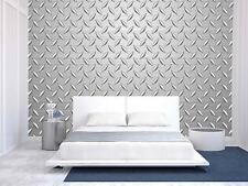 Wall26 - Metal Texture Background - Canvas Art Wall Decor - 100x144 inches