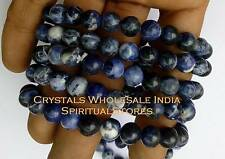 Sodalite Bracelet - Sodalite brings order and calmness to the mind