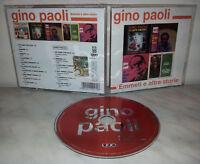 CD GINO PAOLI - EMMETI E ALTRE STORIE