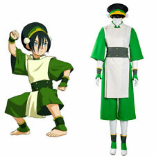 Hot ! Avatar the Last Airbender Toph Beifong Rouge Cosplay Costume HH.15