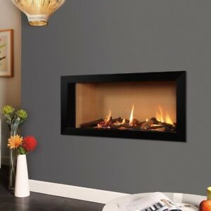 Eden Elite Gas Fire BNIB - 25 Year Warranty Anti Reflective Glass R/Contr