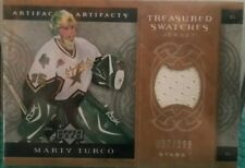2007-08 Artifacts treasured swatches Marty Turco