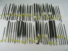 Needle Files, U Pick Style, U Pick Maker Grobet Nicholson Swiss Disston Lenox