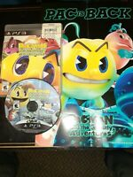Pac-Man and the Ghostly Adventures w/ Poster (Sony PlayStation 3, 2013)
