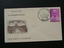president Rajendra Prasad FDC 1962 India 65445