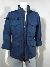 NWT RALPH LAUREN D&S Combat/Military/Field Water-Repellent Jacket Blue sz XXL