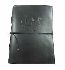 Genuine Soft Leather Notebook Note book Journal Diary with Handmade Paper