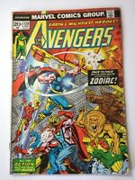 The Avengers Comic Book #120, Marvel Comics Group 1974  Bronze Age