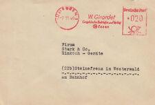 Freistempel (22a) ESSEN -2 11 49 Giradet Graphische Betriebe m. Notopfer Berlin