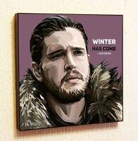 Jon Snow Painting Decor Print Wall Art Poster Pop Canvas