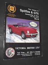 Catalog Of Accessories & Parts For Spitfire & GTS 1996 SPRING EDITION