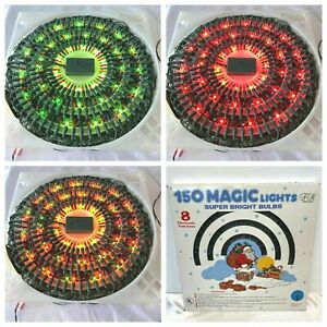 Vintage Trim A Home 150 Magic Lights 8 Functions Christmas Chaser Flash Wave GM3