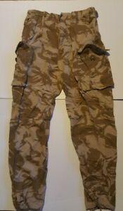 Genuine British Army Desert Dpm Combat Trousers. 85/88/104