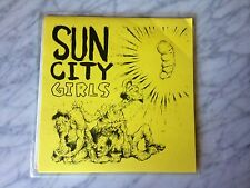 """Sun City Girls So the Dead Tongue Sang 7"""" Ltd 56/500 EXTREMELY RARE 45rpm OOP!"""