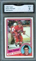 GMA 9 *Mint* STEVE YZERMAN 1984/85 TOPPS ROOKIE Card Detroit Red Wings ROOKIE!