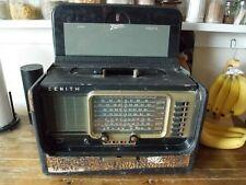 Vintage 50's Zenith Trans-Oceanic ShortWave Magnet R600 Tube Radio Chassis 6R40
