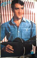 ELVIS PRESLEY Original Vintage Girl Magazine Poster