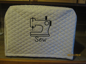 New Sewing Machine Cover, Choose Fabric Color & Design Thread Color